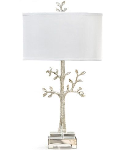 Carriage Co Regina Andrew Design Modern Silver Tree Table Lamp Reviews All Lighting Home Decor Macy S Tree Lamp Table Lamp Table Lamp Lighting