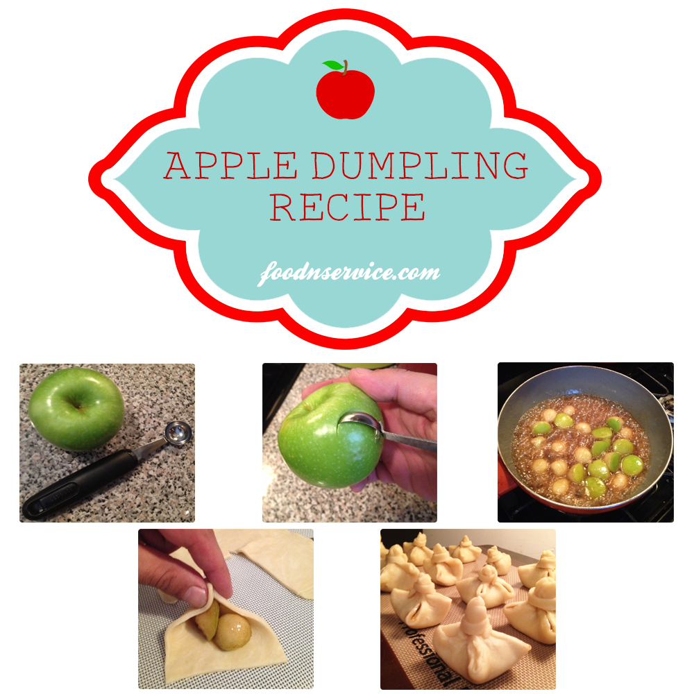 Apple Dumpling Dessert Recipe #dessert #recipes #applerecipes #fallrecipes