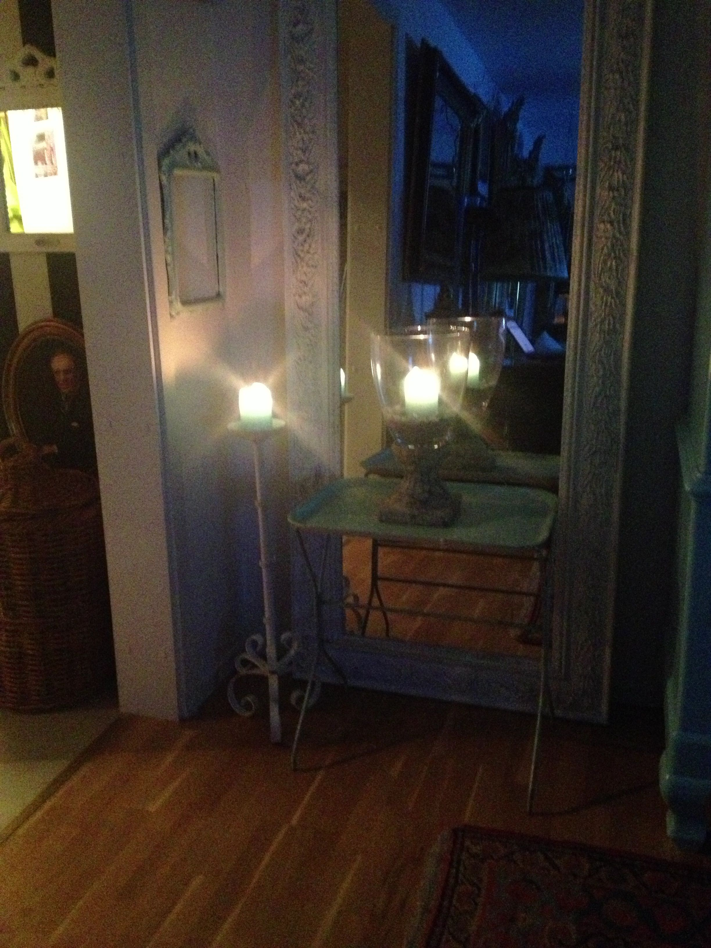 Evening candellighting
