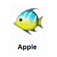 Tropical Fish Emoji Fish Emoji Tropical Fish Emoji