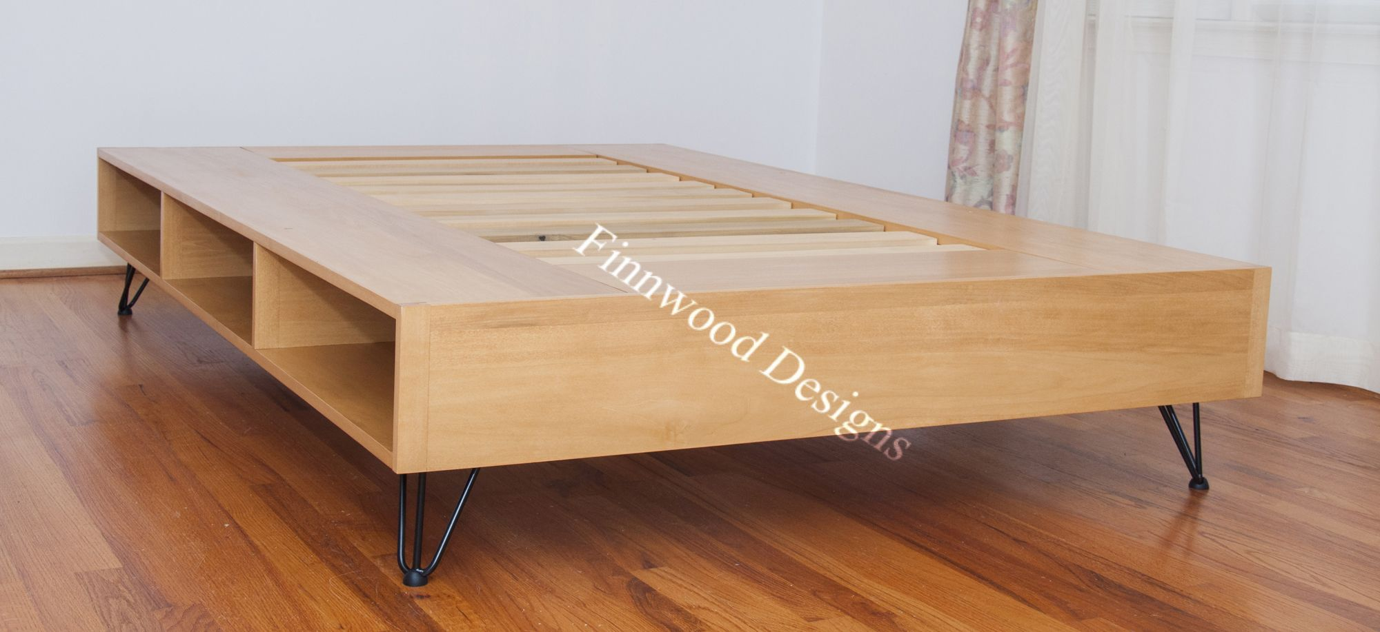 Custom Hairpin Leg Storage Bed Storage Bed Storage Headboards For Beds