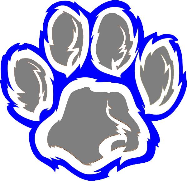 Wildcat Paw Wild Cats Wildcats Logo Illustrator Typography