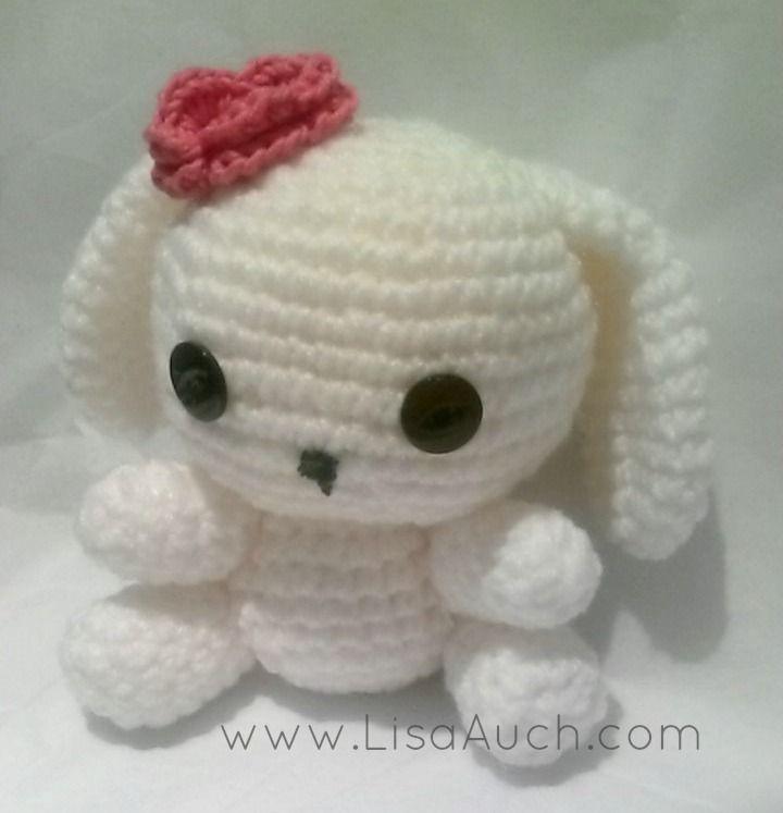 Crochet Toys Cute Crochet Bunny Crocheted Dolls And Toys
