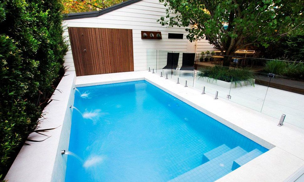 Gut BEST RESIDENTIAL CONCRETE POOL U2014 UNDER $50,000 SUNBREAKER SWIMMING POOLS U0026  SPAS. Hinterhof DesignsEnge Hinterhof IdeenKleiner ...