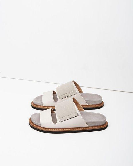 Maison Margiela Line 22 | Two Strap Sandal | La Garçonne