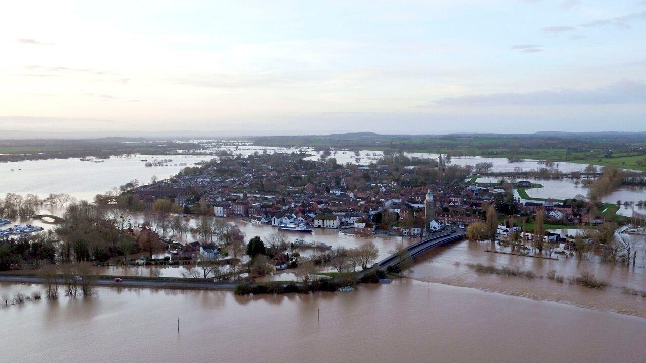 Storm Dennis spawns major flooding in UK as 'danger to