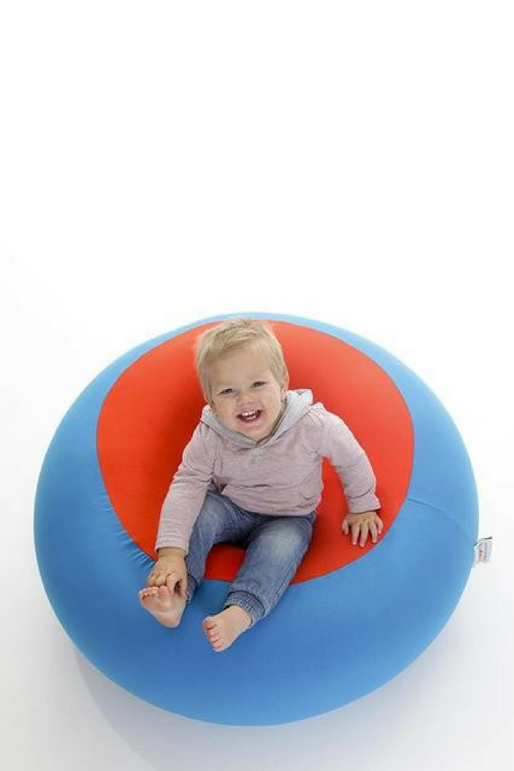 The Yogibo Bubble Is An Awesome One Seater For Kids It Can Also Be A Great And Relaxing Foot Stool Bean Bag Furniture Giant Bean Bag Chair Bean Bag Chair