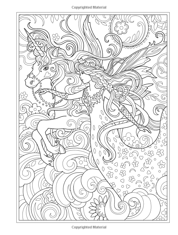 Creative Haven Magical Fairies Coloring Book: Amazon.ca: Marjorie Sarnat:  Books Fairy Coloring Book, Fairy Coloring Pages, Fairy Coloring