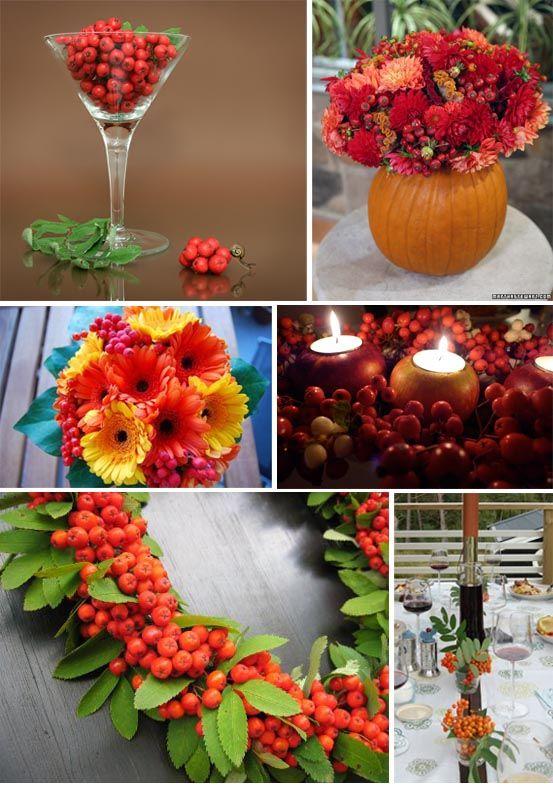 dekorera med rönnbär