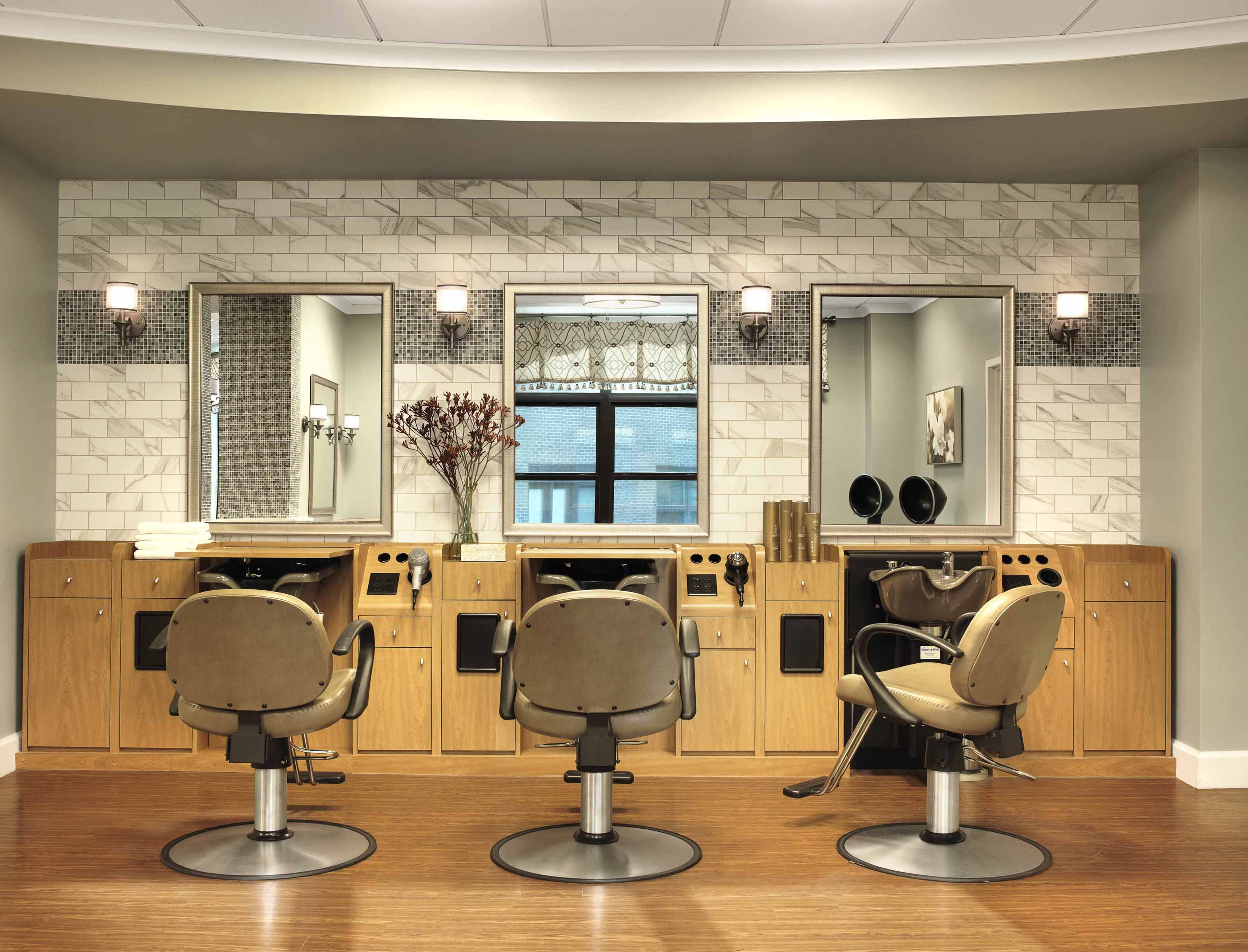 Salon Senior Cypress Glen Salon Salon Senior Living Facilities