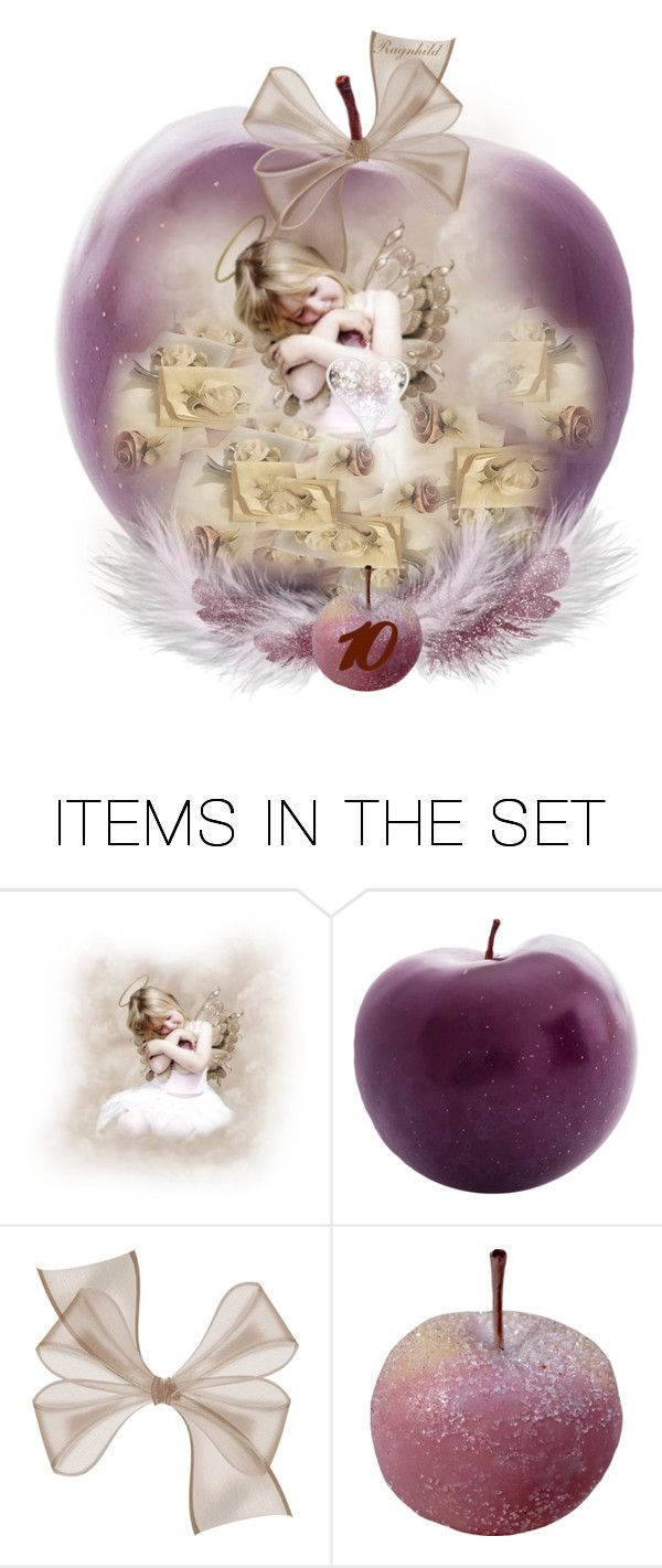 """""""An Apple a Day December 10th"""" by ragnh-mjos ❤ liked on Polyvore featuring art, apple, artset, advent and december2015"""