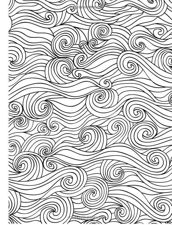 calming art therapy coloring pages - Pesquisa Google | Desen ...