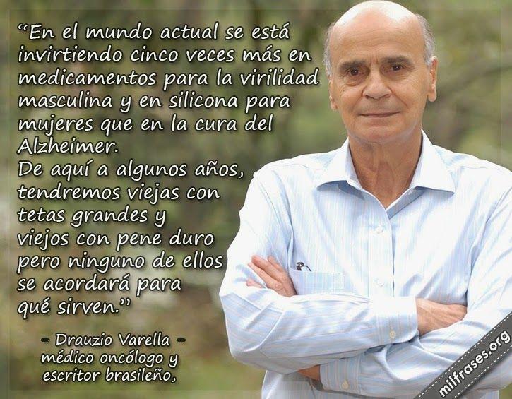 Drauzio Varella Médico Oncólogo Y Escritor Brasileño