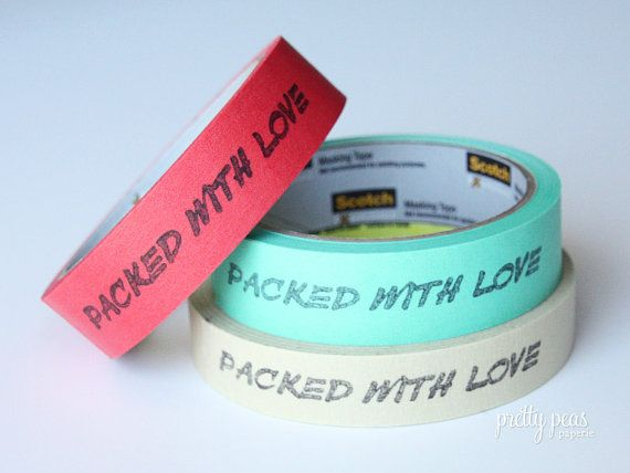 Personalize your masking tape in small quantities!