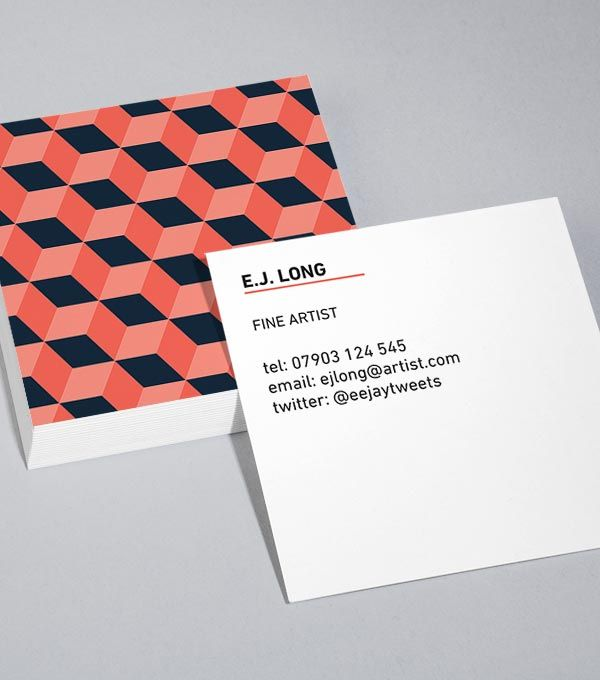 Browse Square Business Card Design Templates Moo United States Square Business Cards Design Business Card Design Business Card Template Design