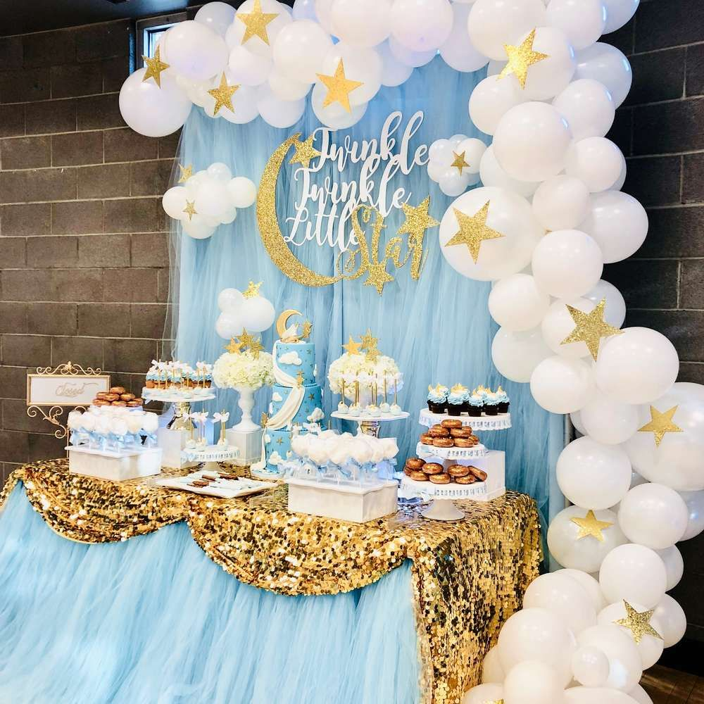 Baby Shower Themes For Boy: Twinkle Little Star Baby Shower Party Ideas