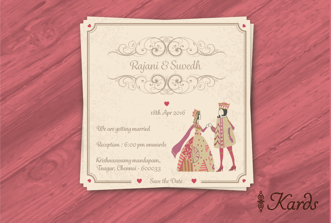 King Queen wedding invitation | Bridal | Pinterest | King queen ...