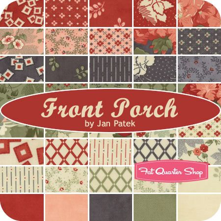 Front Porch By Jan Patek For Moda Fabrics Pretty Pinks In Versatile
