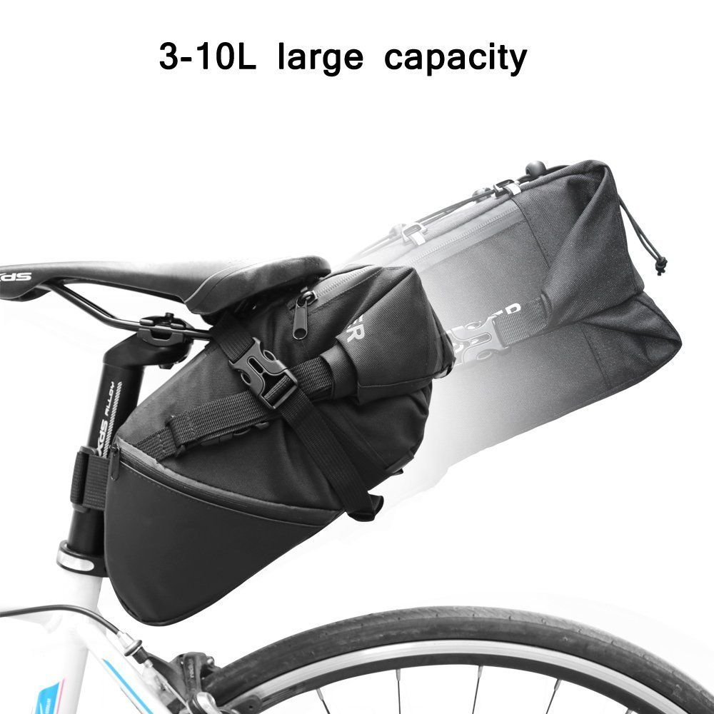 Newboler Bicycle Saddle Bag Bike Seat Under Packs Tail Pouch Cycling Road Backpack10l Check Out This Great Product
