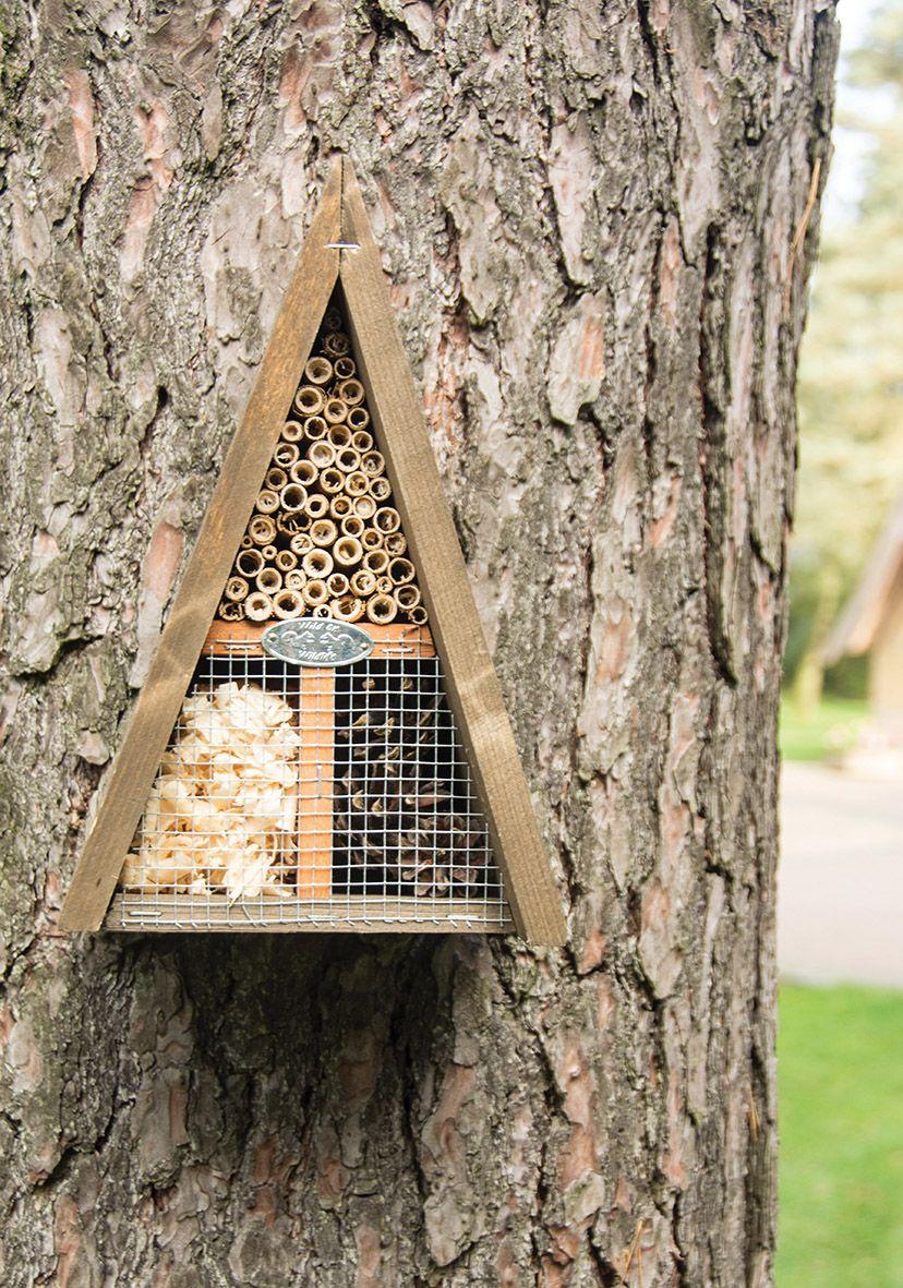 Esschert Design Wood Insect Hotel