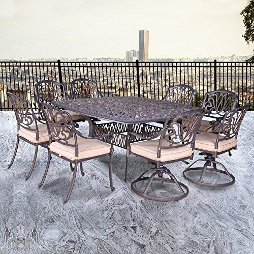 Pleasant Ipatio Athens 9 Piece Dining Set 64 Square Dining Table Alphanode Cool Chair Designs And Ideas Alphanodeonline