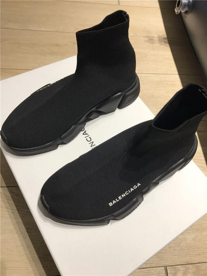 New Trainer Replica In Balenciaga Speed All Black 2019Boyish 8X0nPkONw