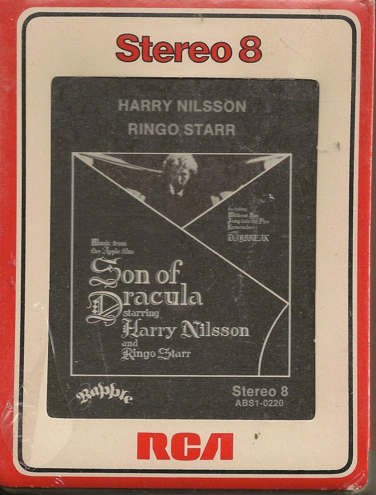 8track tape 8 track tapes, Ringo starr, Harry nilsson