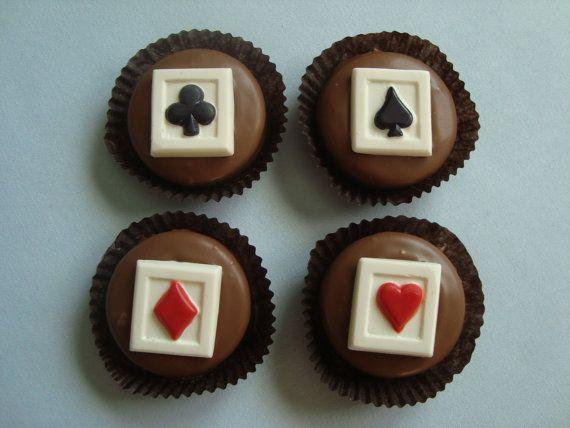 12 Assorted Playing Cards Chocolate OREO by rosebudchocolates, $24.00