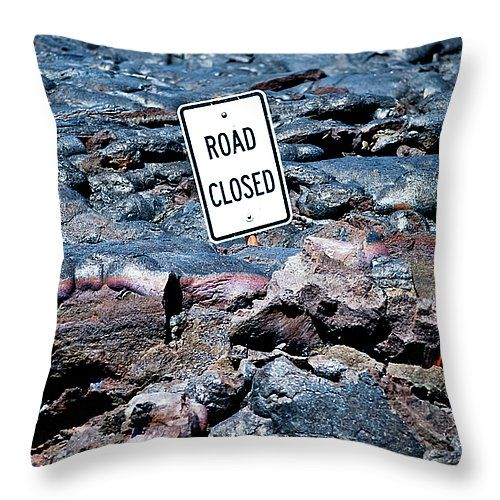 """Stating the Obvious 14"""" x 14"""" Throw Pillow by Christi Kraft, $37.  Multiple sizes available."""