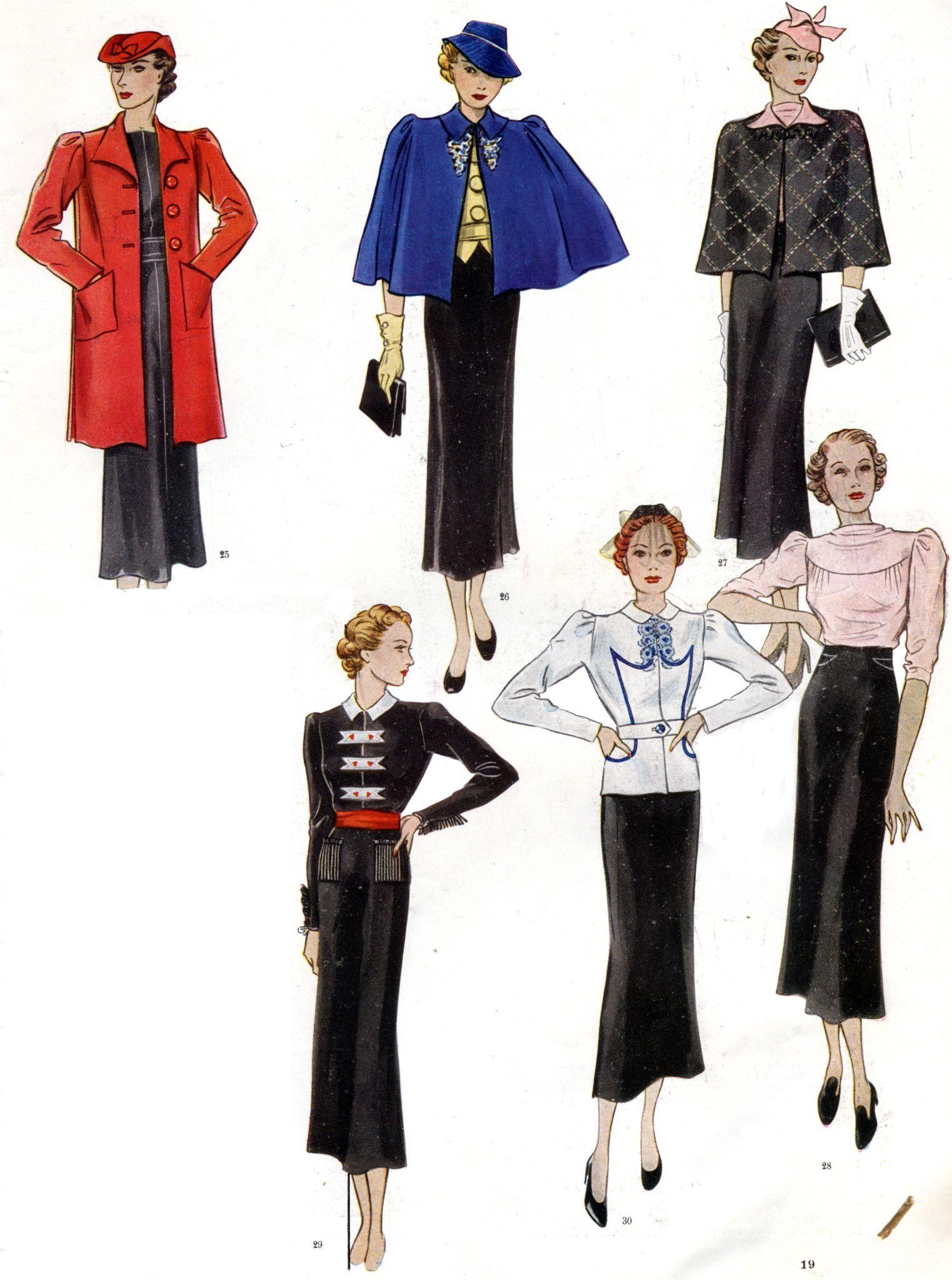 French Fashion, 1930s