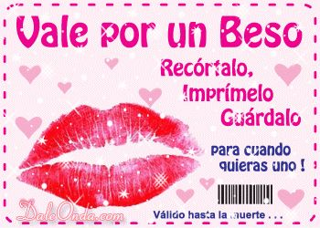 Vale x beso