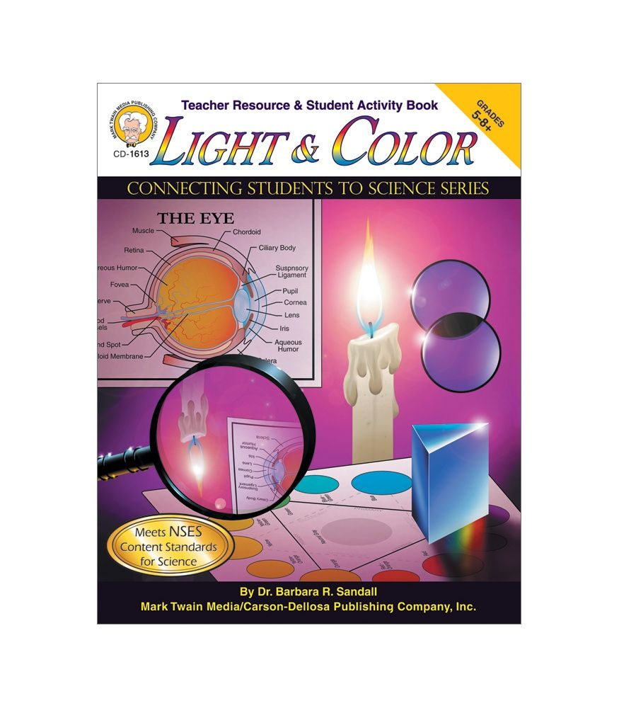 Light and Color Workbook Grades 5-8+ | Physical Science ...