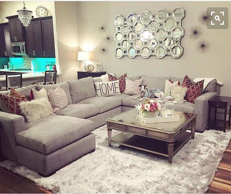 Pin By Irina Gerardino On Home Decore Ideas Apartment Living Room Living Room Sectional Living Room Designs