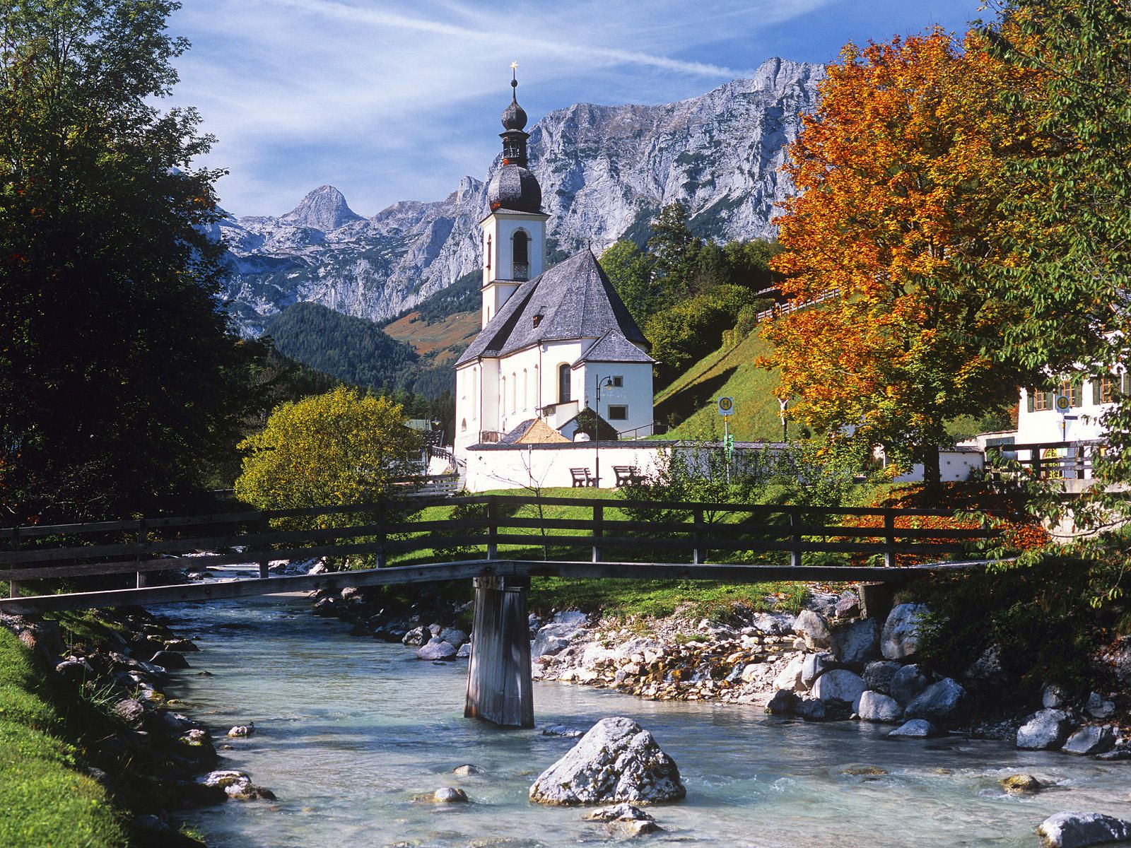 one of my favorite villages in germany ramsau nestled in the mountains near berchtesgaden. Black Bedroom Furniture Sets. Home Design Ideas