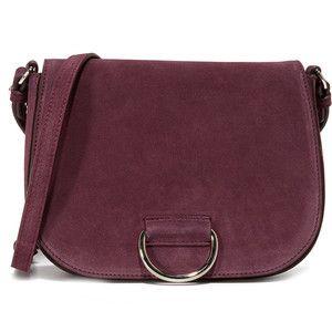 Little Liffner D Saddle Medium Bag Purple Shoulder Bagsleather Bagsshoulder Handbagsleather