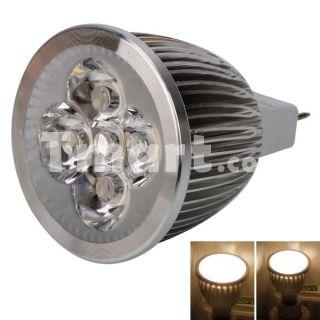 Gu5 3 Mr16 5w 5 Led 3000k 500lm Warm White Spotlight Bulb 12v Spotlight Bulbs Bulb Warm White