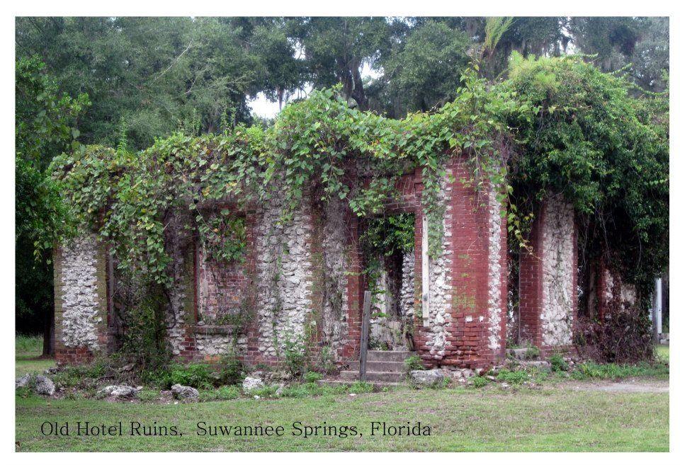 Suwannee springs ruins