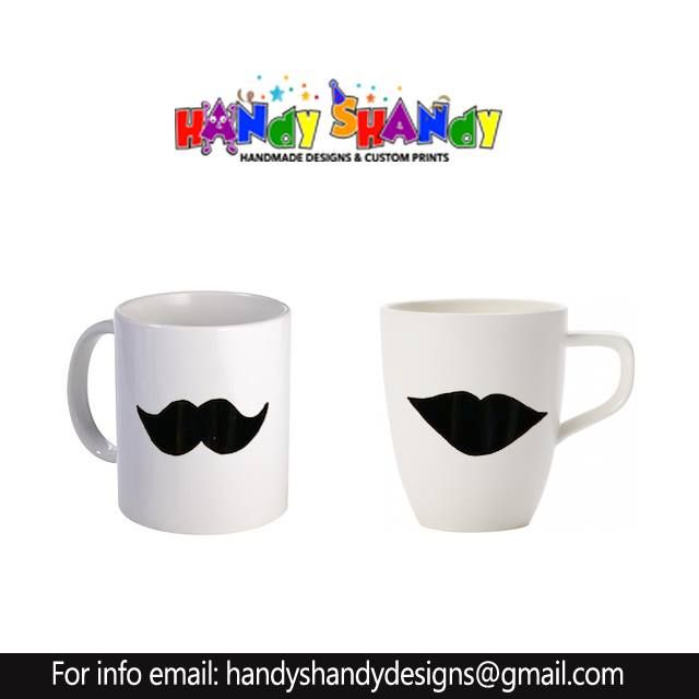 Customized Cups! Email handyshandydesigns@gmail.com for Orders! #Couple #Cup #Creative #handmade #designs #handyshandydesigns