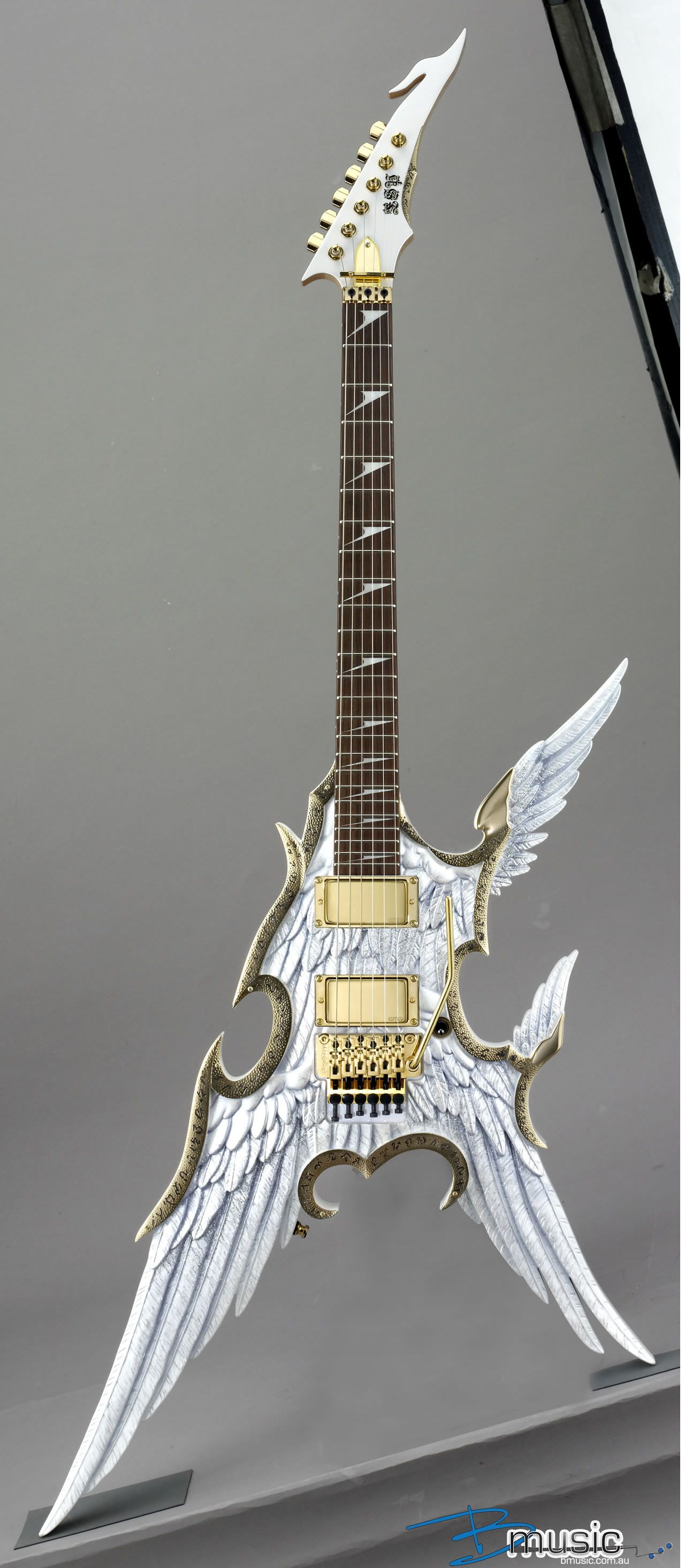 Someone forgot they were making a guitar ESP Takamizawa Angel Guitar Collection ly in Japan guitar Iconic Strings Pinterest