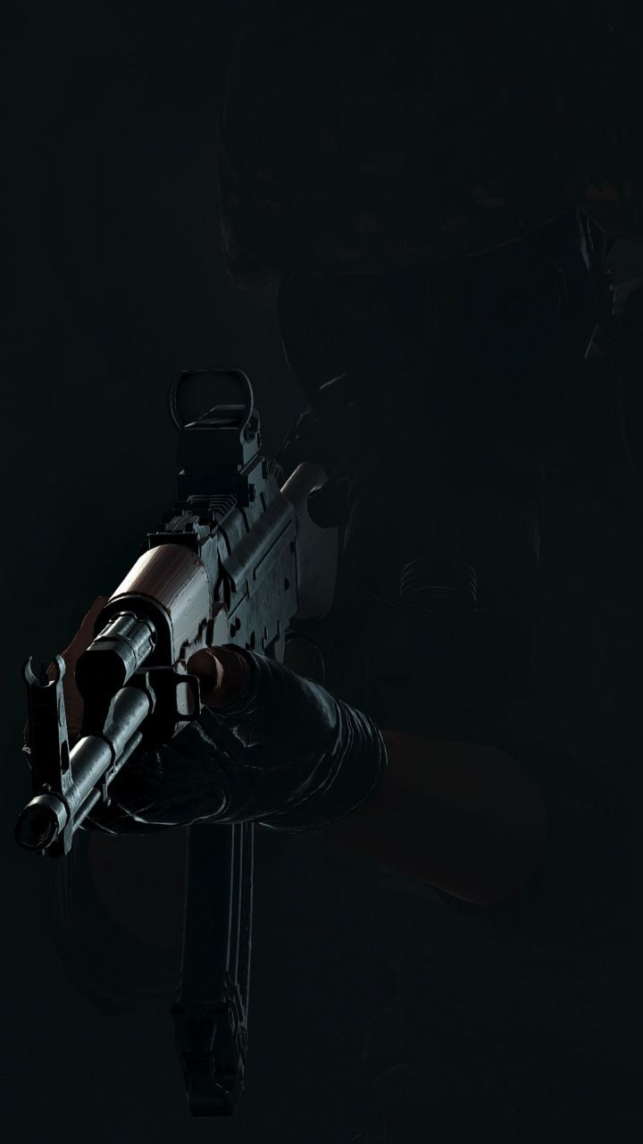 PlayerUnknown's Battlegrounds, gun, dark, 720x1280 wallpaper | Video Game wallpapers | Gaming ...