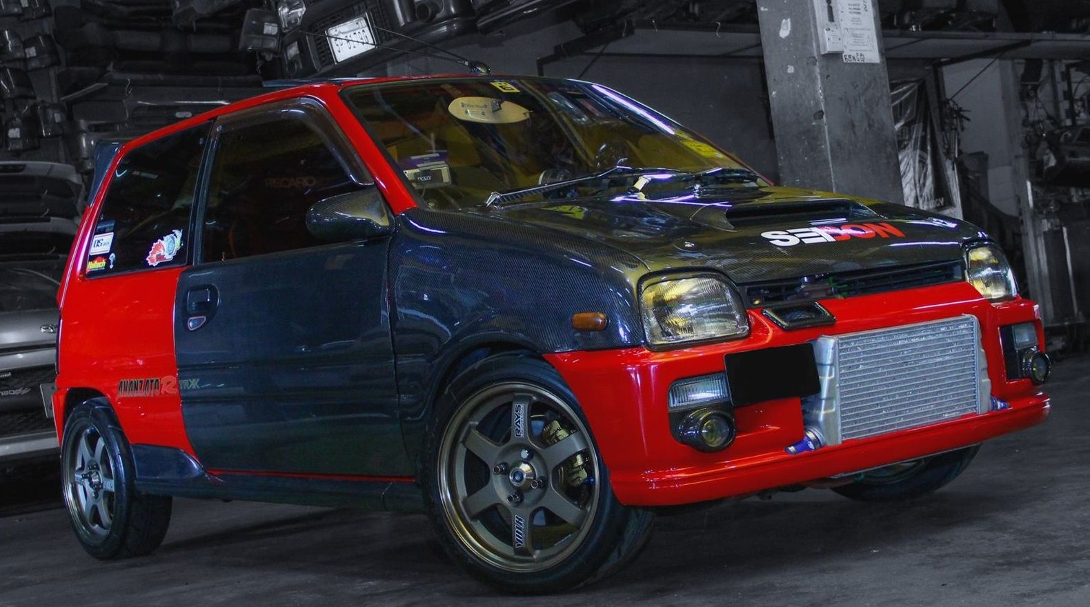 Modified Daihatsu Mira Perodua Kancil 2 Doors Turbo Kancilturbo
