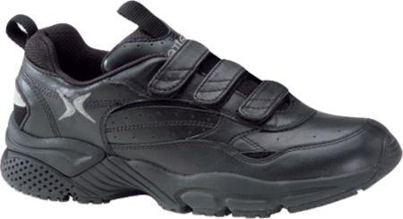apex lenex triple strap walker  velcro shoes mens