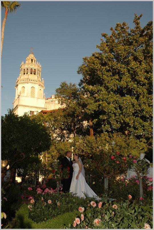 Wedding Venue Hearst Castle, San Simeon, California