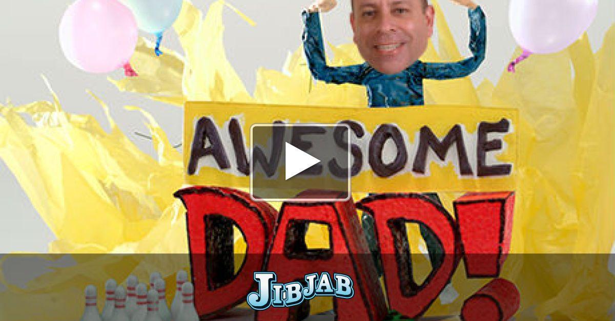 """Awesome Dad,"" Father's Day eCard by JibJab"