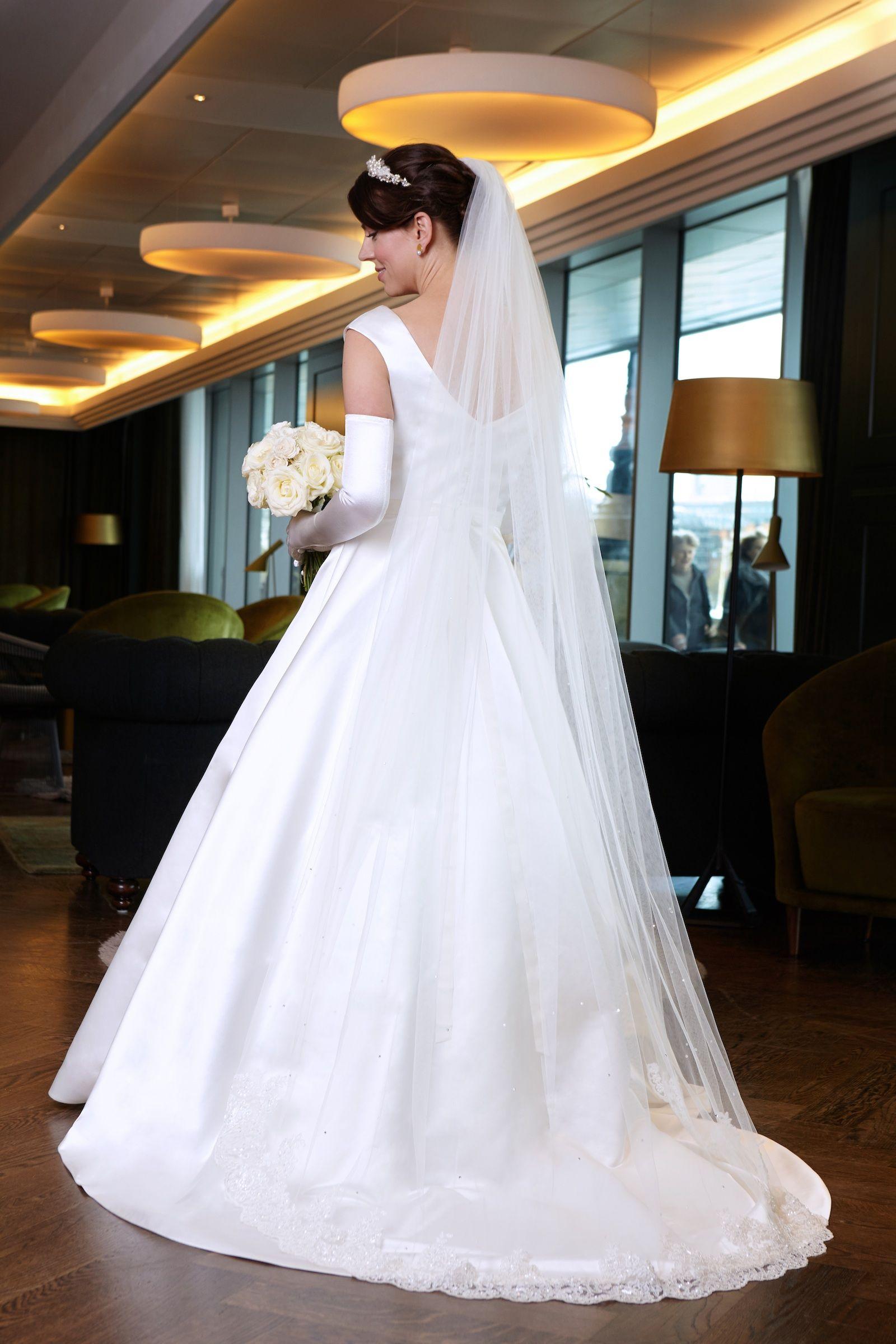 Fit for a princess! Beautiful classic Carmen wedding