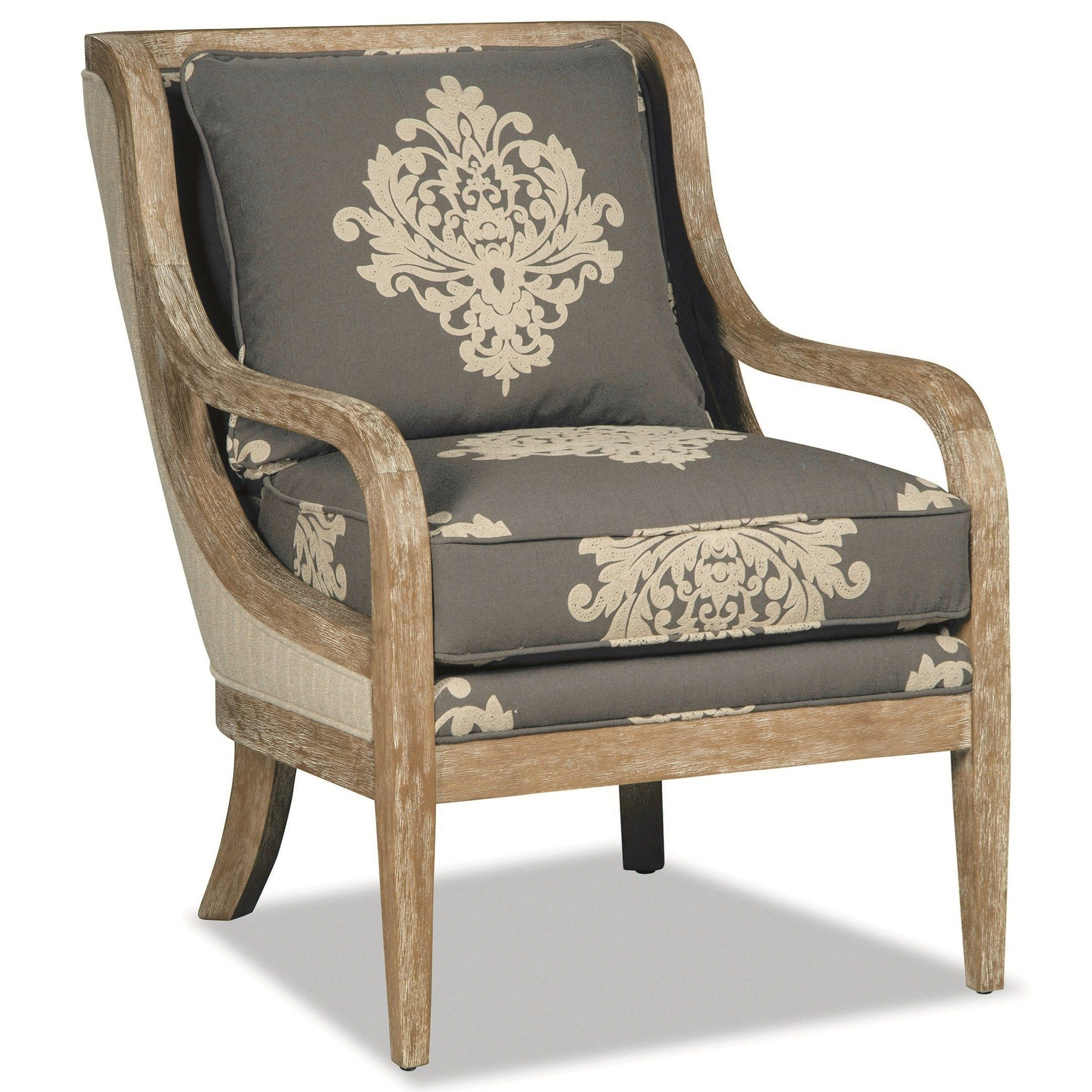 067410067510 Accent Chair Weathered Oak by Craftmaster