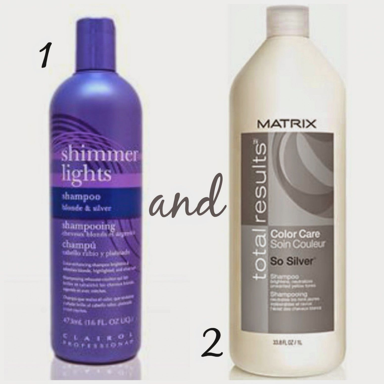 shampoo til blond hår