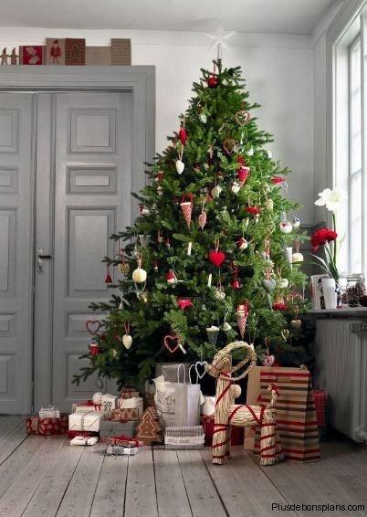 25 sapins de Noël joliment décorés pour s'inspirer !   Decocrush