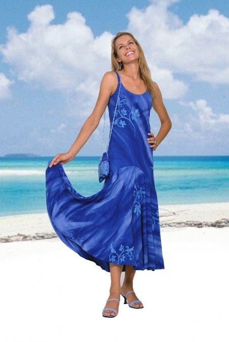 Dancing Dream Long Hawaiian Dress At Tropical Tantrum