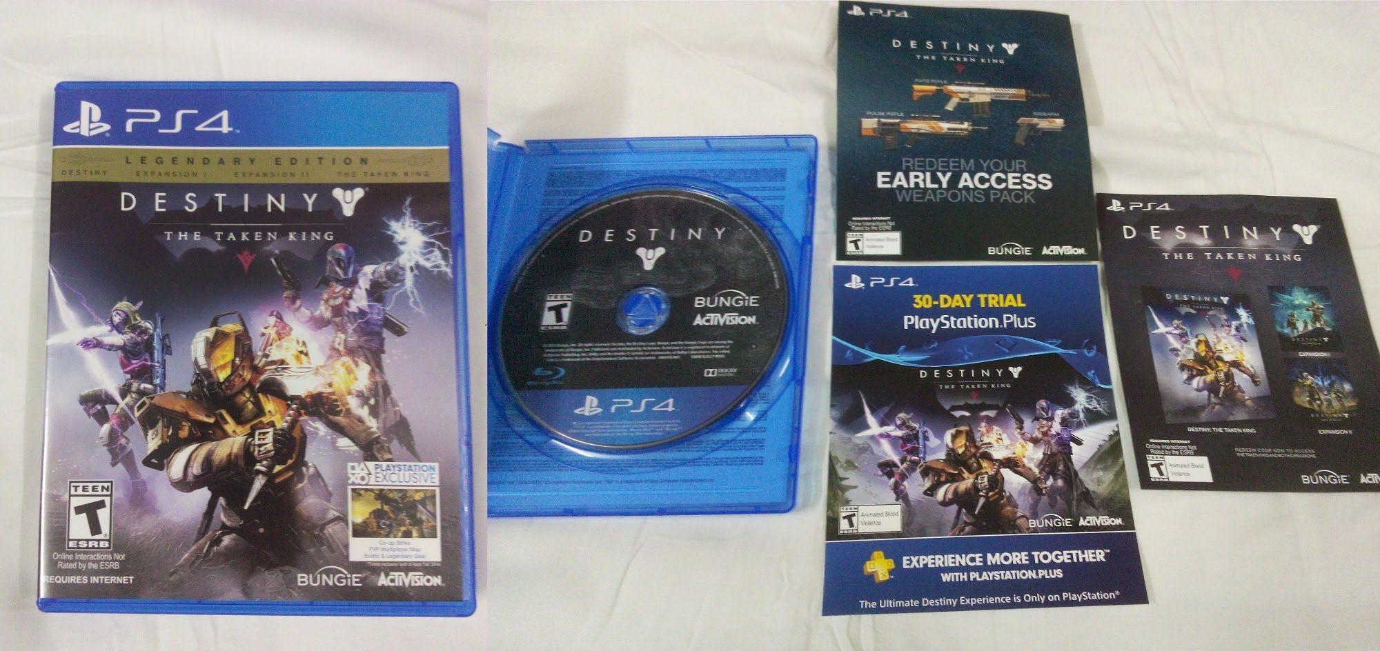 Destiny The Taken King Legendary Edition Ps4 Region All Resident Evil Revelations 3 English Unboxing